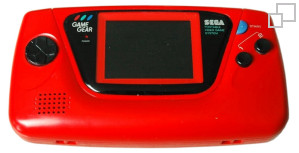 NTSC-JP Game Gear Red Edition